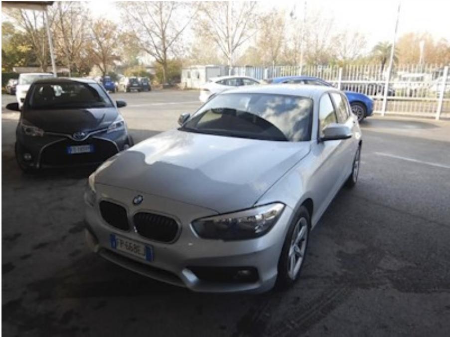 BMW 118 d 150cv steptronic e6 ss 5p. advantage ( cruise - bluetooth - cerchi - sensori p. ) km 27000
