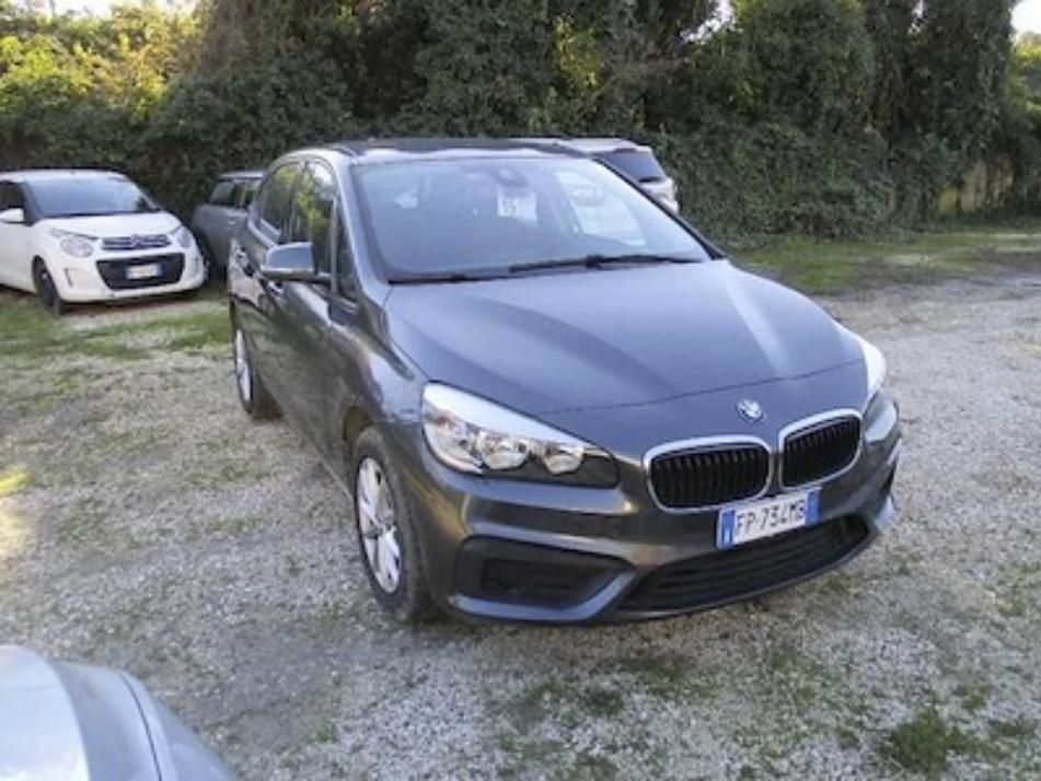 BMW 218 d active tourer 150cv steptronic e6 ss ( cerchi - bluetooth ) km 42000