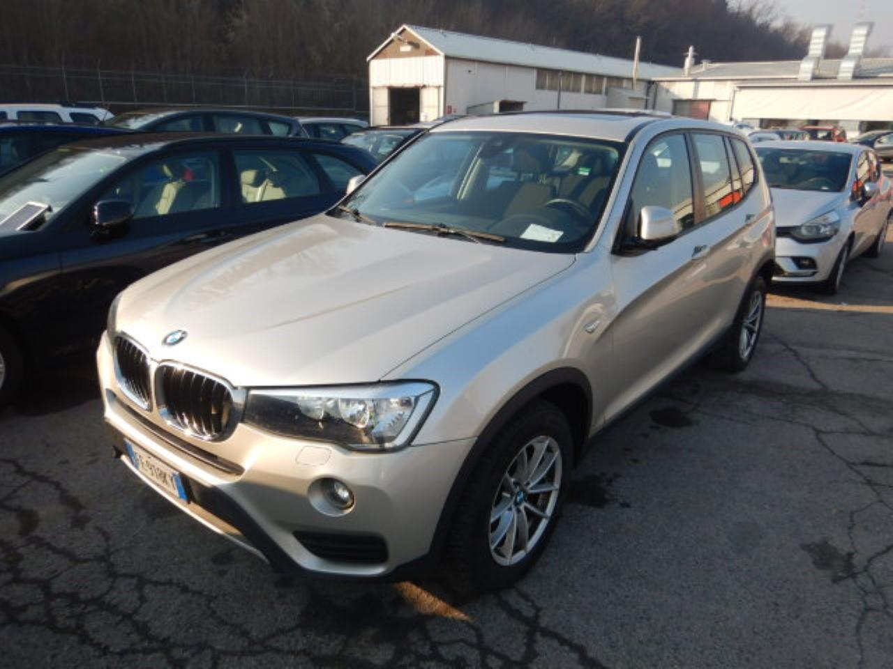 BMW X3 18d 150cv e6 ss s-drive ( cruise - navi - bt - clima bizona - tetto - cerchi 17 - pdc )
