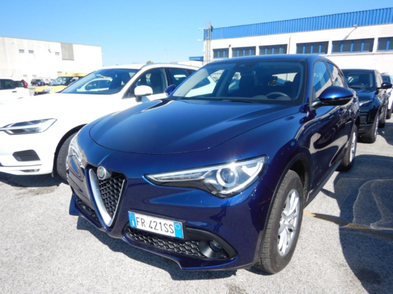 ALFA ROMEO Stelvio 2.2 turbodiesel 180cv at8 e6 ss q4 business ( cruise - navi - bt - bixeno - sensori p. ) km 35000