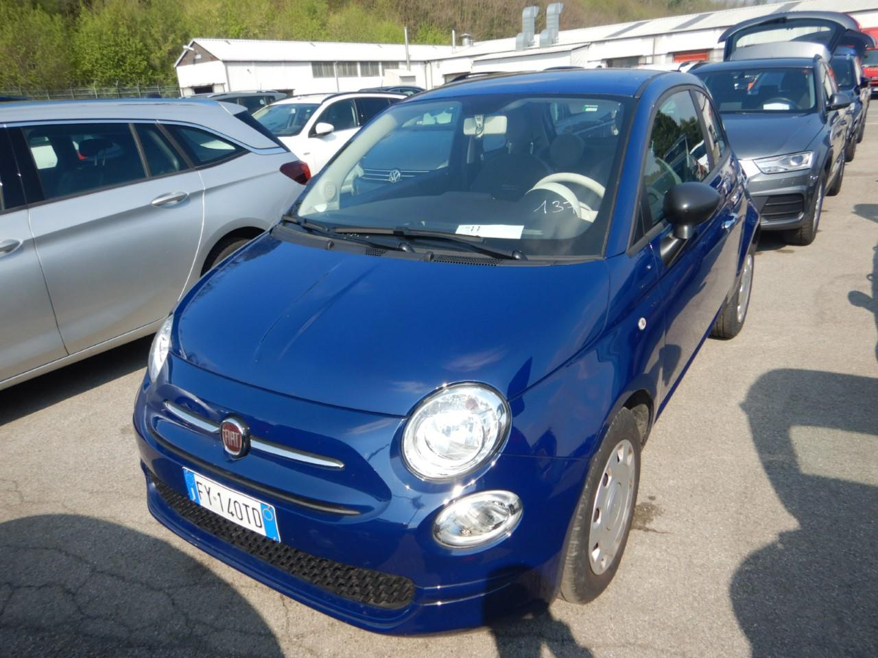FIAT 500 7 1.2 69cv e6d-temp ss pop ( navi - bluetooth - mirror ) km 5000