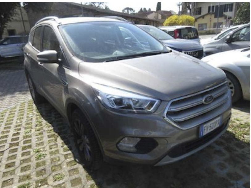FORD Kuga 2.0 tdci 120cv powershift e6 ss business ( cruise - navi - bt - mirror - clima bizona - cerchi 17 - sensori p. ) km 27000