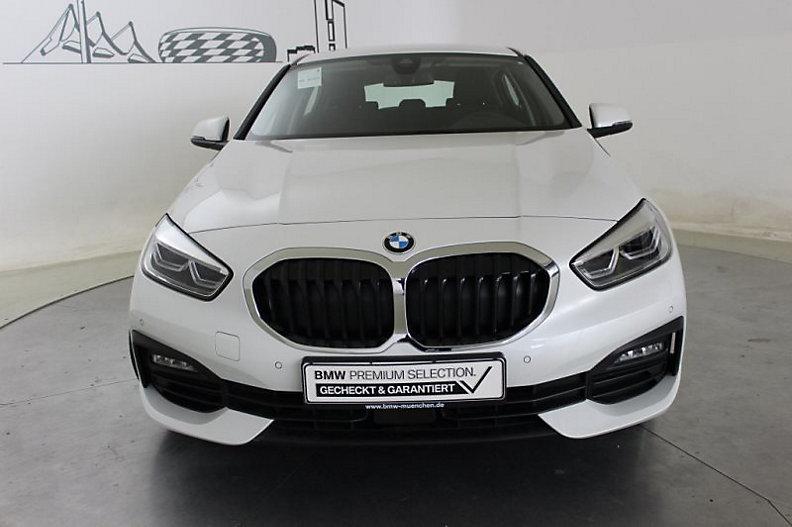 BMW 116 d new 115cv 6m. e6d-temp ss 5p. advantage ( cruise - navi - bt - vernice perlata - fari led - pdc ) km 3000